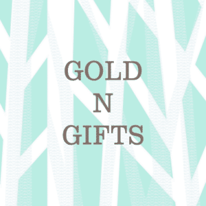 Gold n Gifts Text Logo