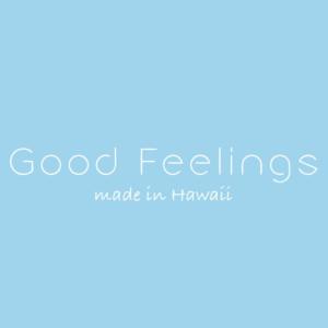 Good Feelings Made in Hawaii Logo