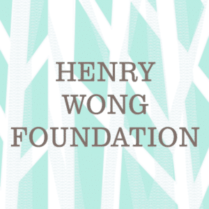 Henry Wong Foundation Text Logo