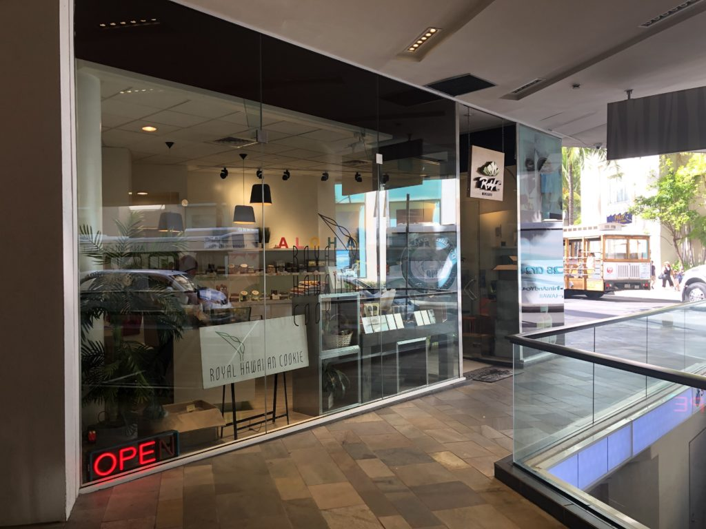 Royal Hawaiian Cookie Storefront