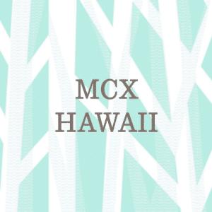 MCX Hawaii Waikiki Shopping Plaza Text Logo