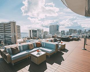 sky waikiki rooftop deck