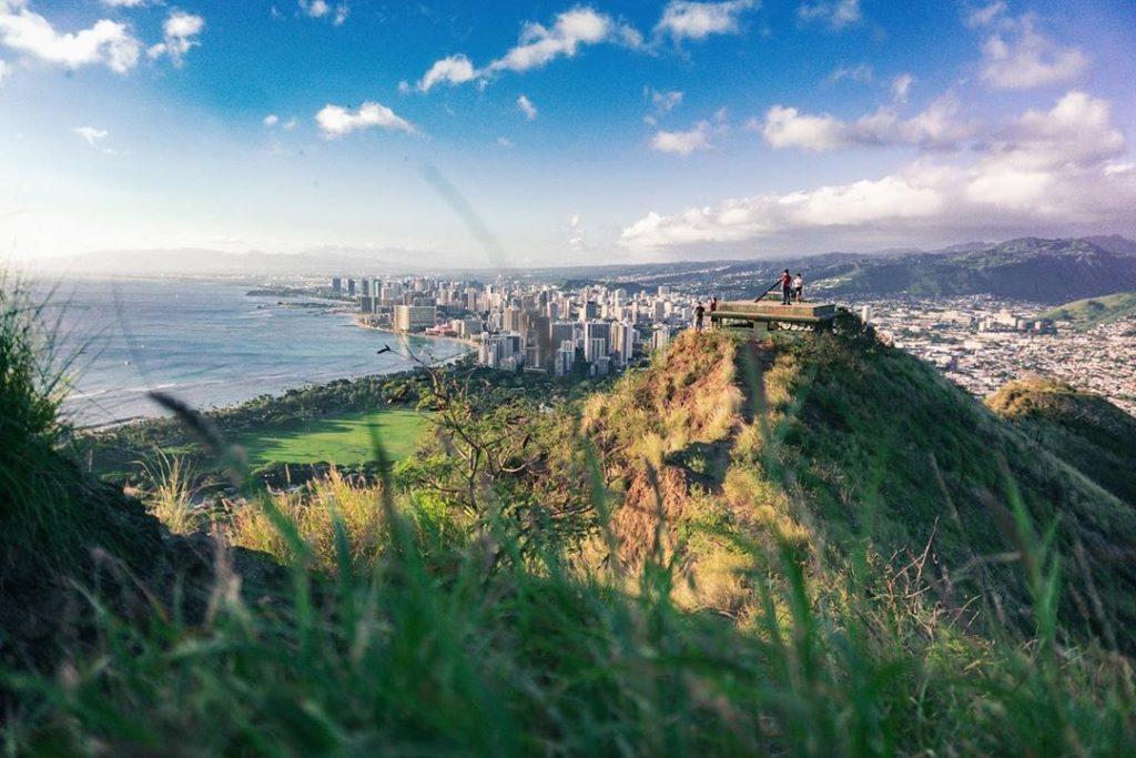 Diamond Head Hike on Oahu Hawaii