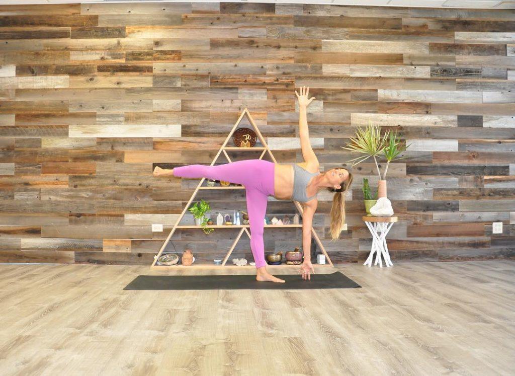 Yoga class at Yogaloha