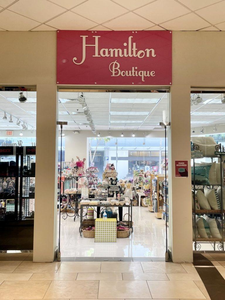 Hamilton Boutique Waikiki Shopping Plaza